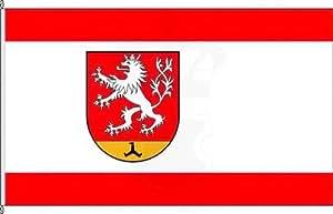 Königsbanner Hissflagge Waldfeucht - 150 x 250cm - Flagge und Fahne