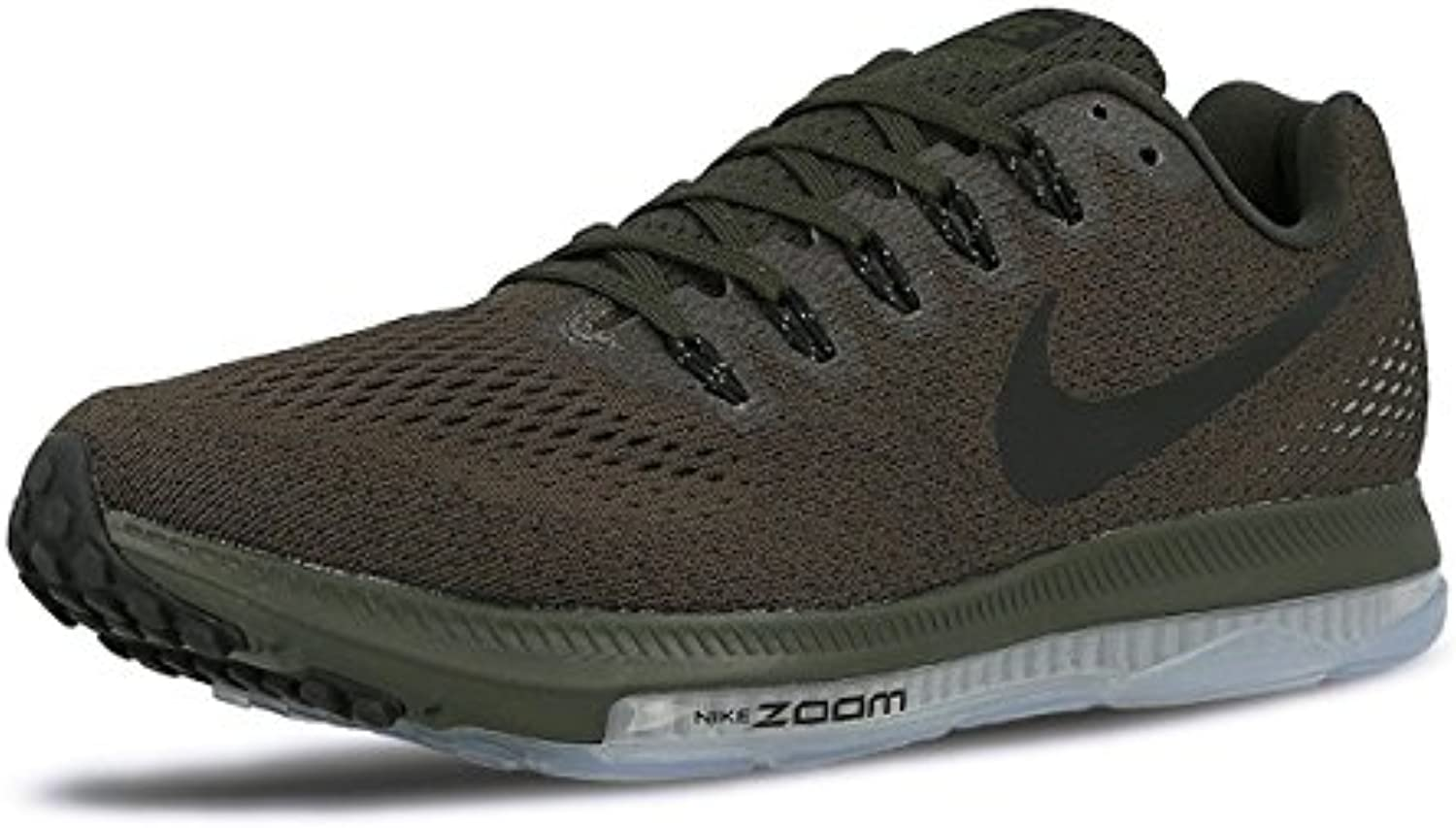 NIKE Mens Zoom All Out Low Sequoia/Palm Green/Pure Platinum/Black Nylon Running Shoes 9 M US