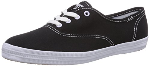 Keds - Sneaker Champion CVO, Donna, Nero (Black)), 37.5