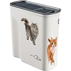 Contenedor Curvo de Comida para Gatos