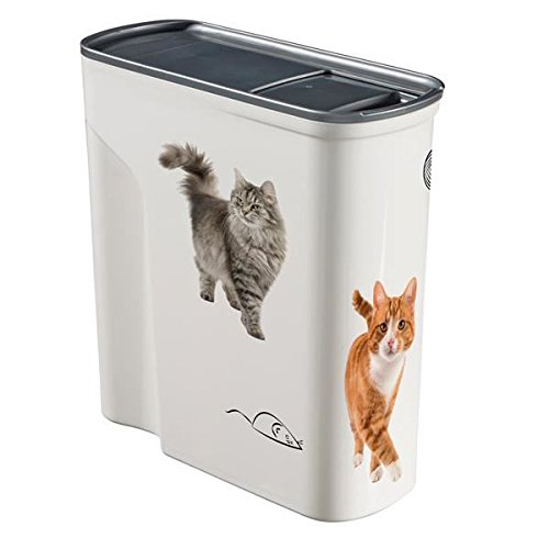 Curver Pet Food Behälter Trocken Cat, 6 Liter (Cat Container Food Luftdicht)