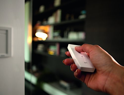Philips Hue - Interruptor y mando inalámbrico, iluminación inteligente, puede colocarse en la pared, controlable vía WiFi, compatible con Apple Homekit y Google Home