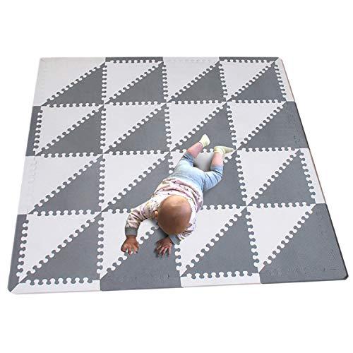 963832ac178 MQIAOHAM 32 Unidades triángulo niños Espuma Bebe tapete de Juego Juego niño  Gimnasio tapetes para niños