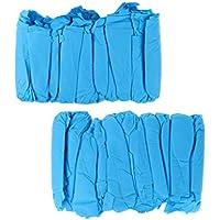 Homyl 100PCS nichtgewebter Wegwerfüberschuh-Abdeckungs-Überschuh-Überschuhe-rutschfestes langlebiges Gut preisvergleich bei billige-tabletten.eu