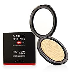 Make Up For Ever Pro Light Fusion Undetectable Luminizer -  2 (Golden) 9g/0.3oz