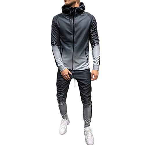 Men's 2 Pieces Gradient Outfit S...