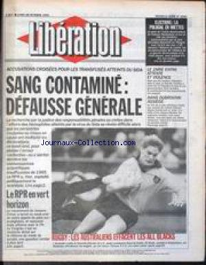 LIBERATION [No 3245] du 28/10/1991 - ELE...