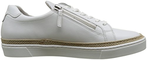 Gabor Shoes Comfort, Scarpe da Ginnastica Basse Donna Bianco (weiss 50)