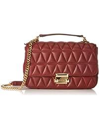 e78a9afd99 Michael Kors Womens Sloan Shoulder Bag Red (Oxblood)