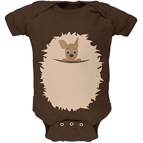 ostüm weiches Baby Einteiler Braun 18-24 M (Känguru Kostüm Baby)