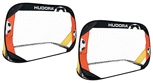 HUDORA Fußballtore Pop Up 2er Set