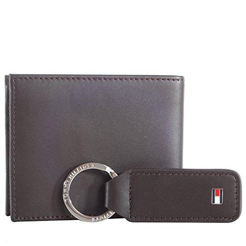 TOMMY HILFIGER Eton Mini CC Wallet Veneno Box Brown