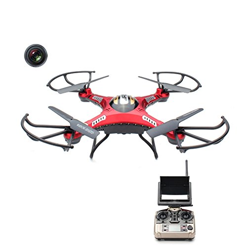 JJRC H8D RC Quadrocopter Drone 2.0MP HD Camera Real Time 5.8G FPV CF Mode Helicopter ferngesteuerte 2.4G 4CH 6 Achsen Headless Modus Aircraft mit LED Lichter Neu - 2