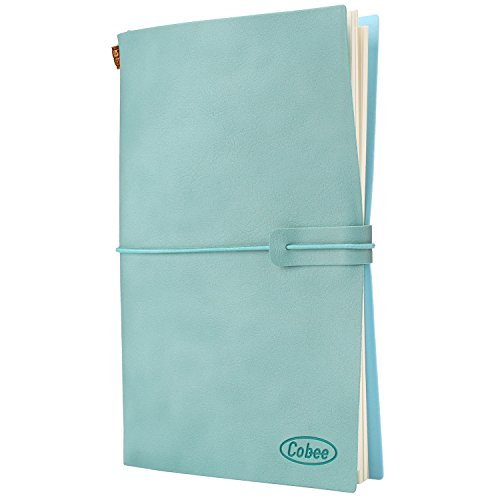 cobee-notebook-a5-pu-refillable-journal-for-sketching-writing-drawing-doodle-blue-pad