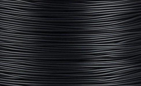 NuNus ABS Filament - METERWARE - 1,75mm verschiedene Farben für 3D Drucker MakerBot RepRap MakerGear Ultimaker uvm. (1.75mm, schwarz)