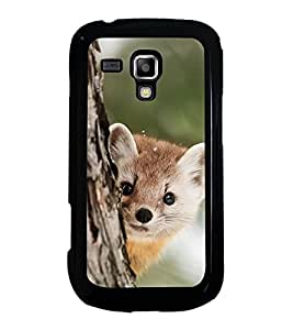 Printvisa Ultra Cute Animal 2D Hard Polycarbonate Designer Back Case Cover for Samsung Galaxy...