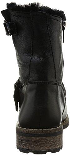 Buffalo - London, Stivali Donna Nero (Noir (Black898))