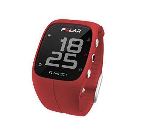 Polar M400 GPS Watch – Red, One Size