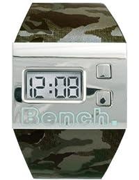 Bench BC0195BKGRA - Reloj de caballero de cuarzo con correa multicolor
