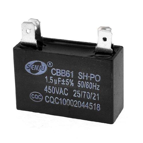 CBB61AC450V 1.5uF 4Pin Air Conditioner Fan Motor Start Kondensator