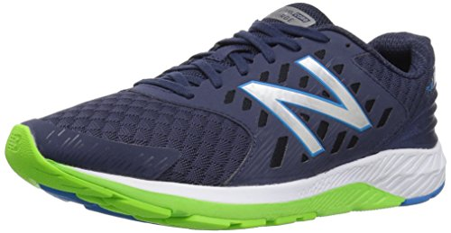 New Balance Men's Urge V2 Blue and Lime Running Shoes