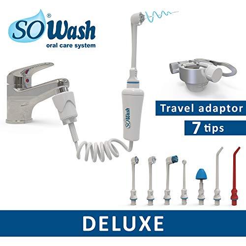SOWASH - DELUXE - Irrigador higiene oral conectable