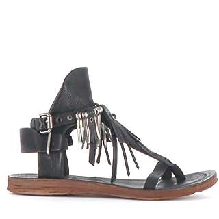 AS98 | Airstep | Sandale - schwarz | Nero, Farbe:schwarz, Größe:38