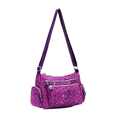 Ms. Messenger Bag Femminile BUKUANG Oxford Di Nylon Piccola Borsa Borsa Mamma Di Mezza Età Borsa Da Viaggio Di Tela,P G