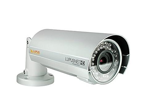 LUPUS–Le 934Plus, FullHD Caméra réseau, caméra IP PoE, SD, Sony CMOS & DSP Chip, résistant aux intempéries, haut-parleurs, microphone et Relais ports