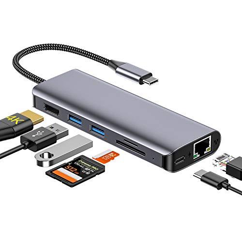 USB C Hub, MZKJ Typ c Adapter