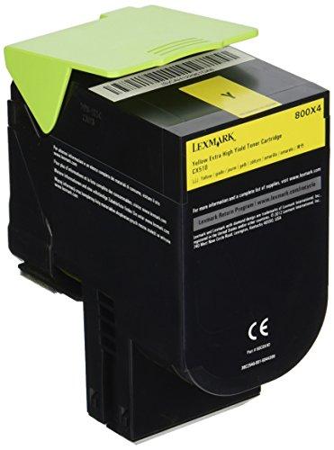 Preisvergleich Produktbild LEXMARK 800X1 Toner schwarz Extra hohe Kapazität 8.000 Seiten 1er-Pack