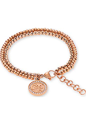 GMK Collection By CHRIST Damen-Armband Edelstahl 26 Zirkonia One Size Rosé 32001322