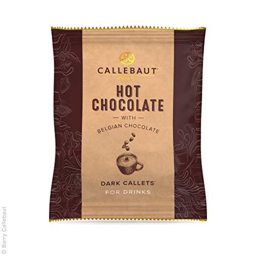 Hot Chocolate DARK Callets, Callebaut, 25x35g im Spender