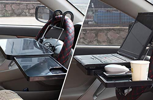 L-CAR Klappbarer, Tragbarer 5KG-Autocomputerständer, Höhenausgeglichen und Verstellbar, Erweiterbar auf Einem Kleinen Arbeitstisch und Einem Esstisch -