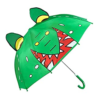 Aoneky Kids Umbrella, 3D Cute Design, Best Gift for Boys and Girls (Crocodile)
