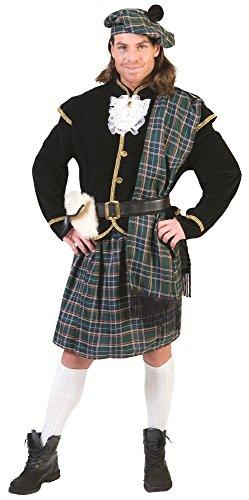 Schotte Connor Kostüm für Herren - Grün - Gr. 52 54