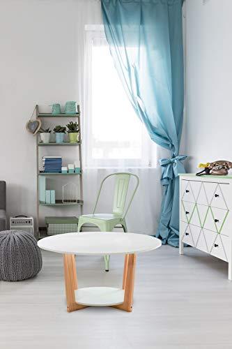 Table d'appoint Table basse bestelltisch avec protégés Table basse blanc
