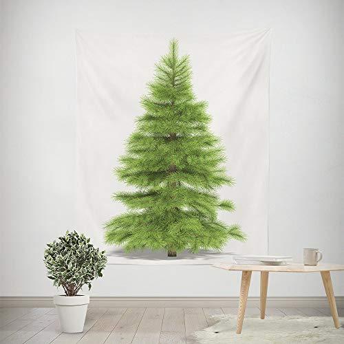 Mitlfuny Weihnachten Home TüR Dekoration 2019,Weihnachtsbaum Tapisserie Strand vertuschen Tunika Gobelin Tischdecke Home Decor (Tissue Strand Cover Box)
