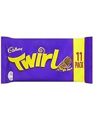 Cadbury Twirl Chocolate Bar, 11 x 21.5g