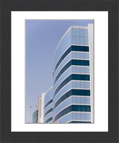 framed-print-of-accenture-buildings-in-hi-tech-city-hyderabad-andhra-pradesh-state-india