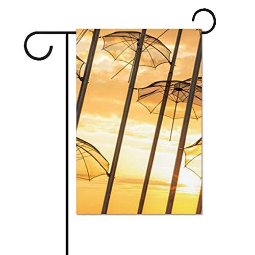 264210 Personalisierte Ultra Cotton Garden Flag 31X46cm; 12x18 Zoll. ()