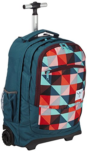 Chiemsee Unisex-Erwachsene Reisetasche Wheely Magic Triangle Red 33 x 20 x 52 cm, 34 Liter