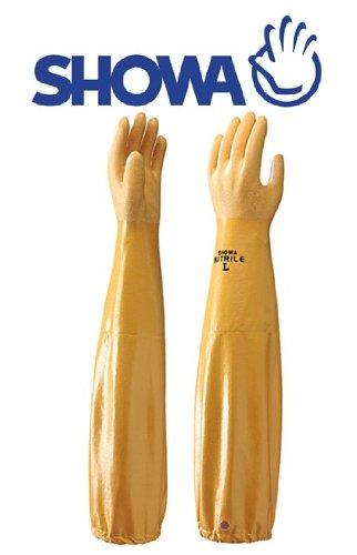 Showa 772 trempé nitrile Gants manches longues - 10/XL