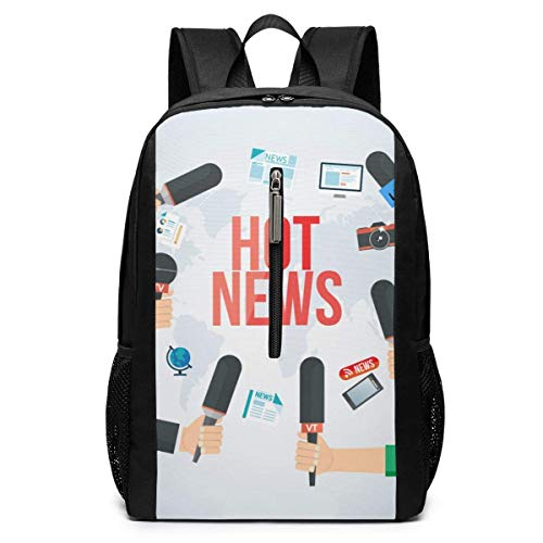 Hot News Iconic Casual Campus Backpack Computer Bag Business Daypack Laptop Bag Schoolbag Book Bag 17 Inch