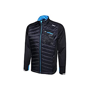 max-Q.com Hybrid Trail Jacket – Laufjacken für Herren – Winter Basic