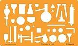 Chemie Laborgeräte Schablone Chemieschablone Chemische Apparate Zeichenschablone Technisches Zeichnen