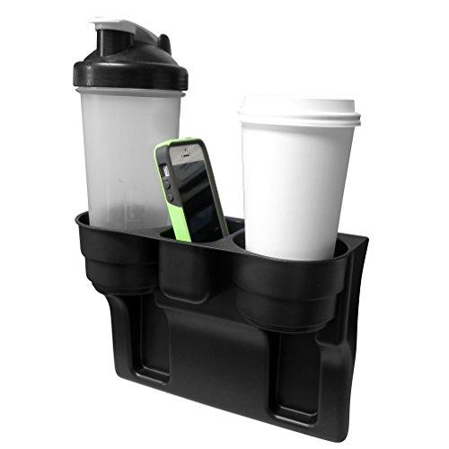 Preisvergleich Produktbild Evelots Rücksitz-Keil-Getränkehalter mit Handyhalter,  Autozubehör