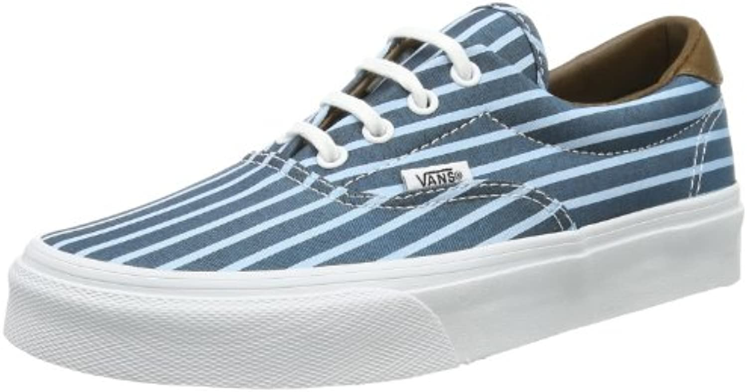 Vans U ERA 59 (STRIPES) BLUE/- Zapatillas de lona unisex -