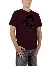 Touchlines Magnum P.I. T-Shirt S-XXXL Various Colours