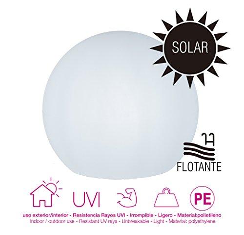 moovere Ungleichung Bereich beleuchtet Dekorativ eingebaut, 0.3W, Weiß Transluzent, 50x 44cm